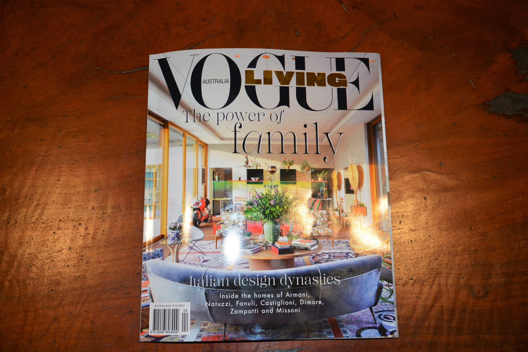 GB House Vogue Living June July 2019 Cover
